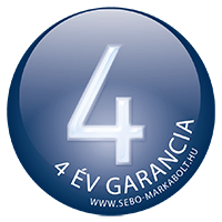 4 év garancia