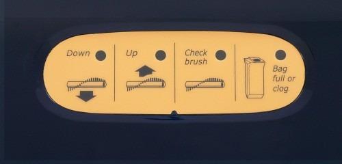 SEBO Automatic X porszívó jelzések