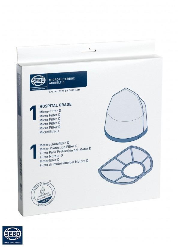 Microfilterbox SEBO AIRBELT D_8191ER
